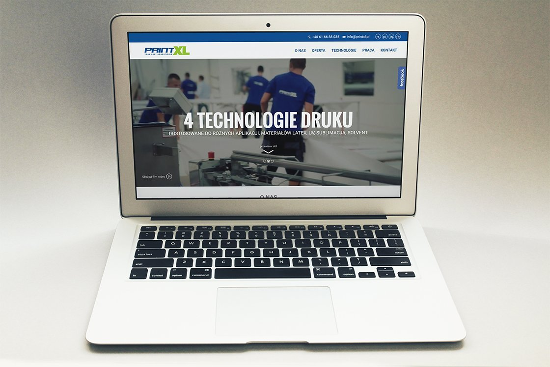 projektowanie stron www poznań printxl