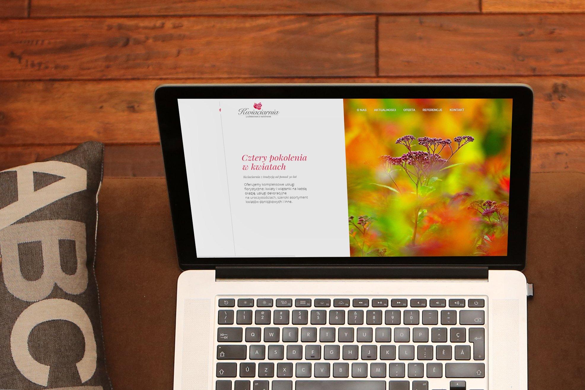 strony internetowe kwiaciarni