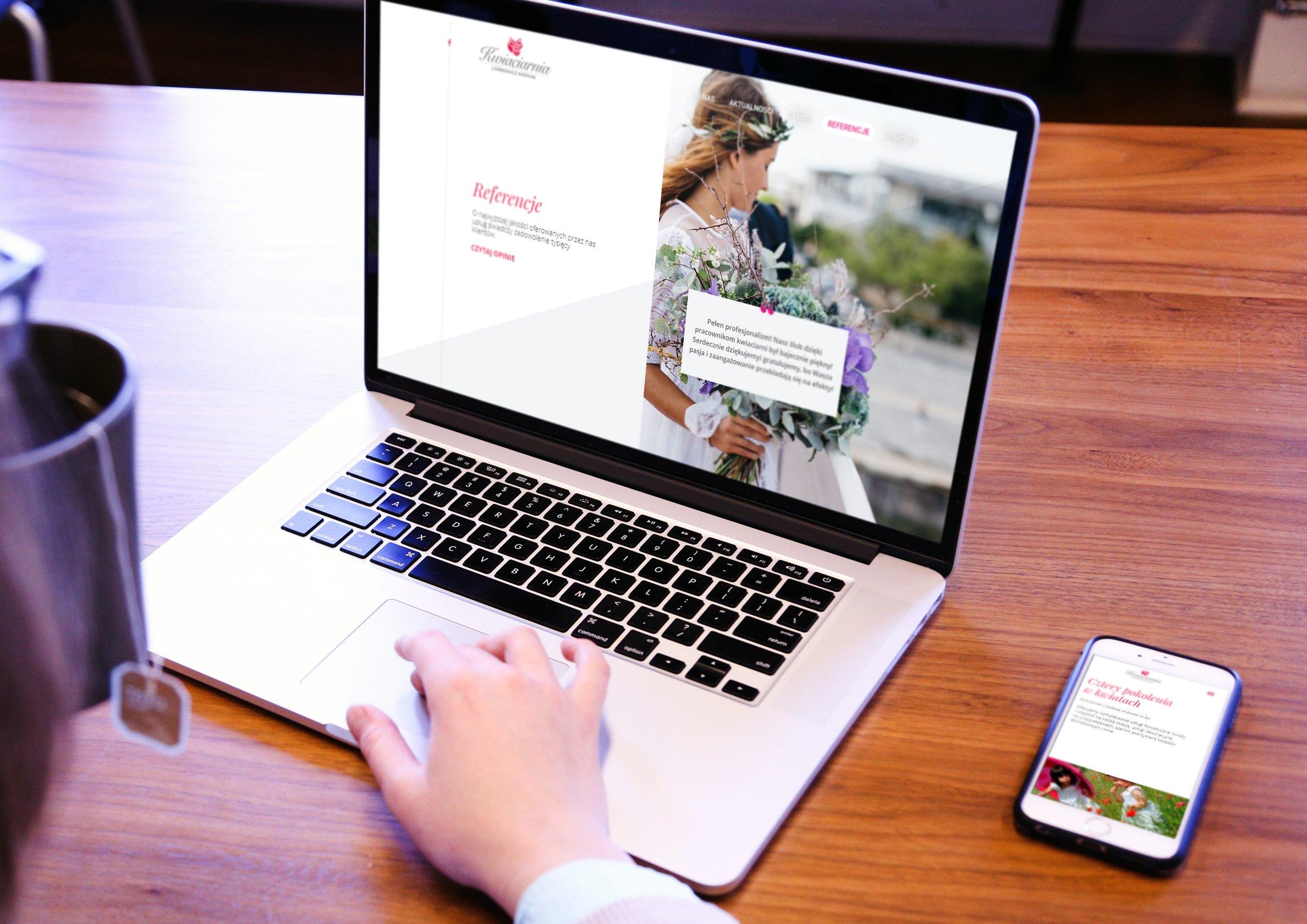 strony internetowe kwiaciarni strony www