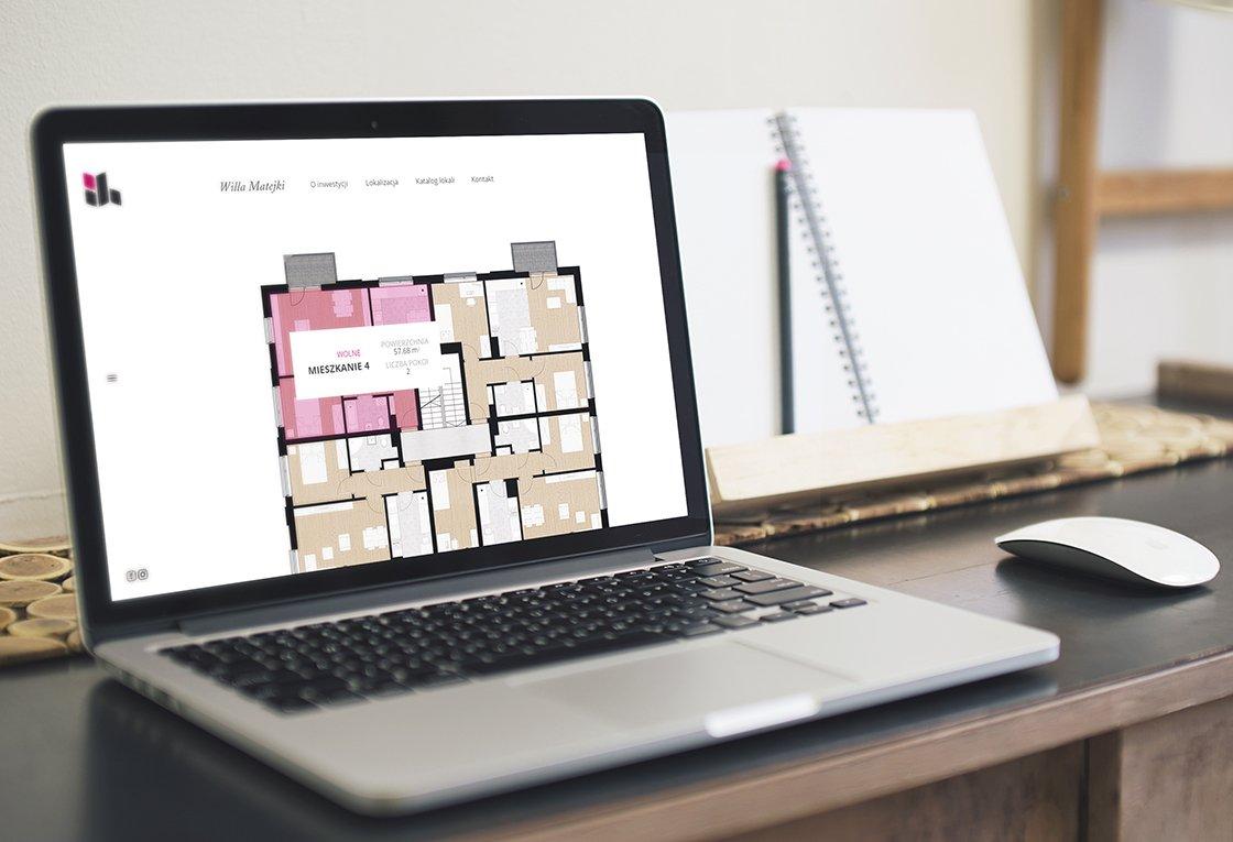 strona internetowa dla dewelopera z wrześnii