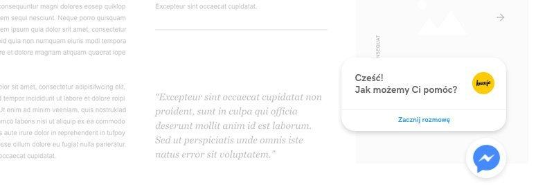 czat messenger nastronie www