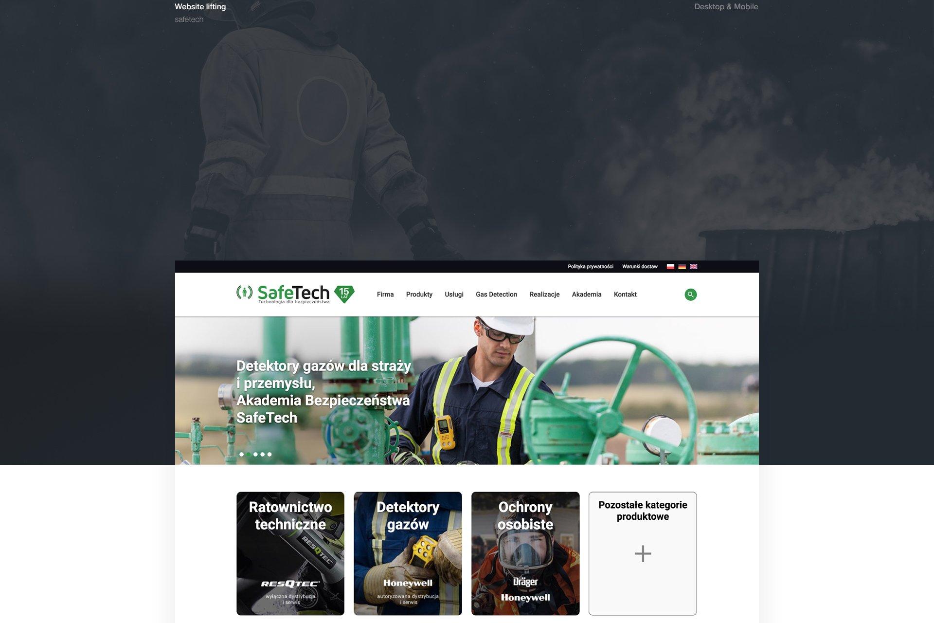 strona www safetech