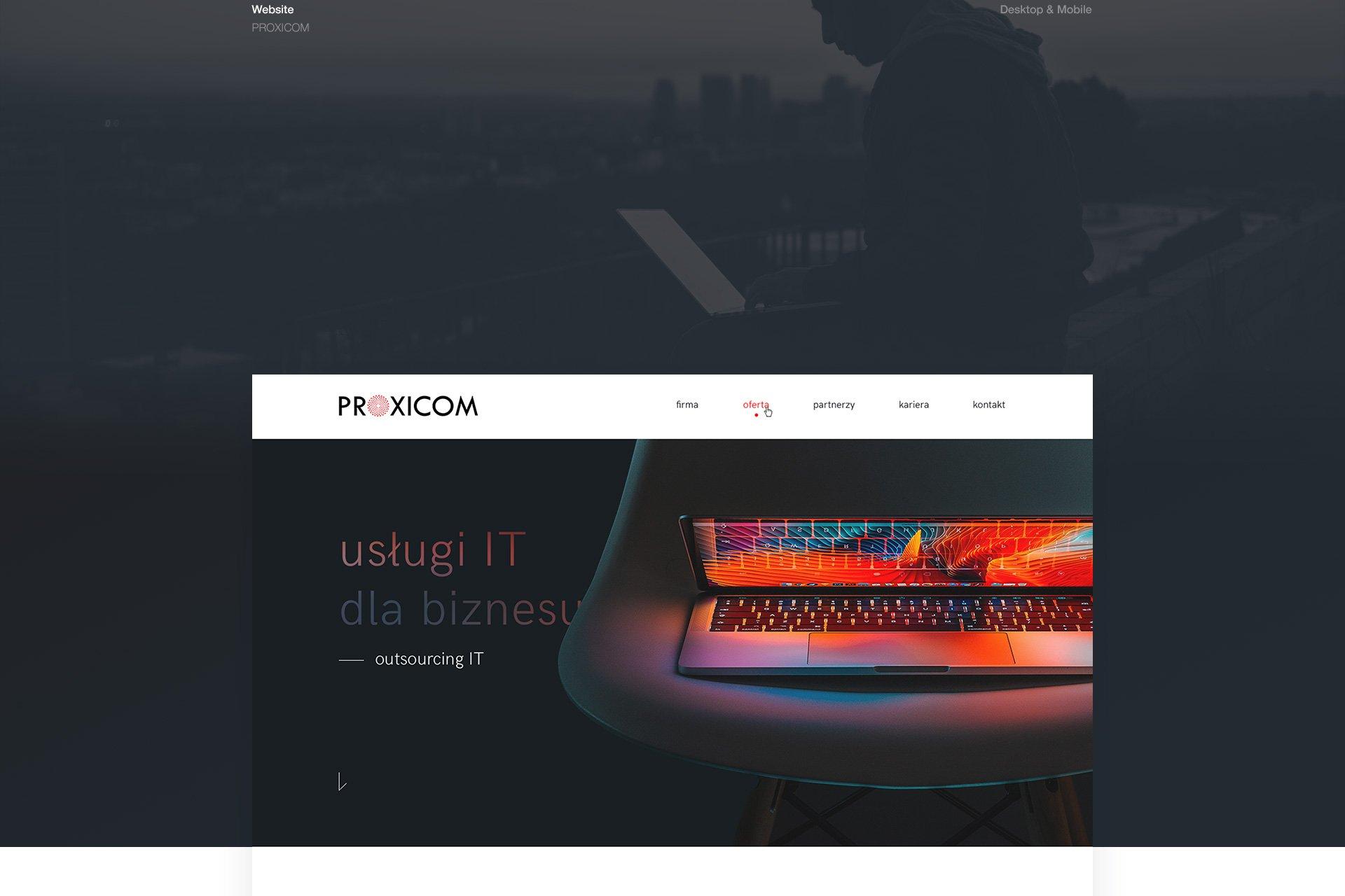 strona www proxicom