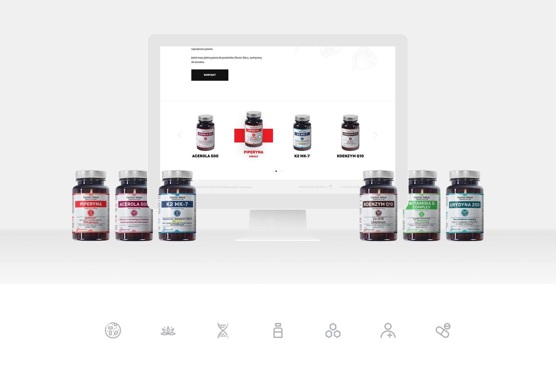 strona produktowa wizerunkowa