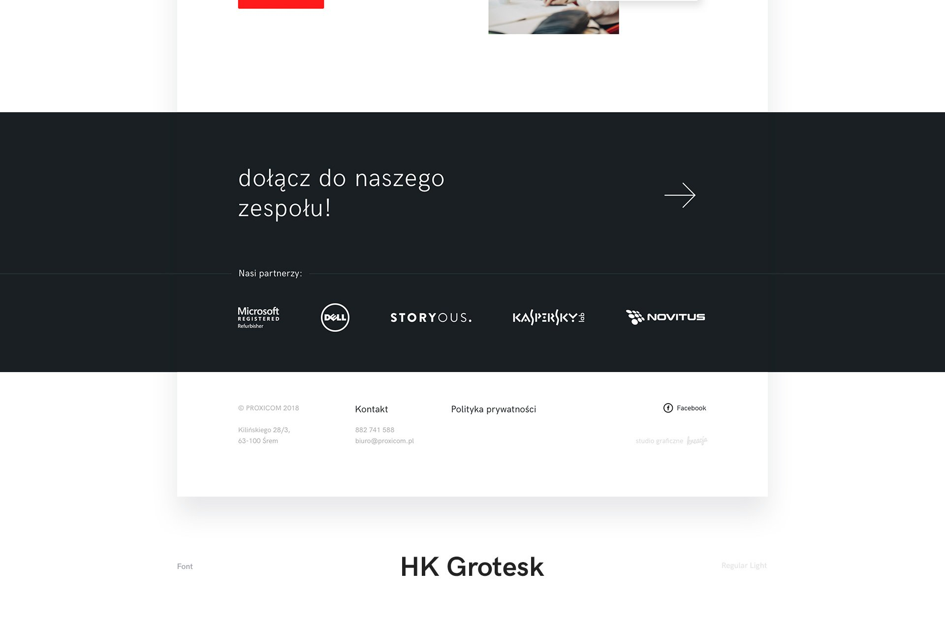 strony www śrem