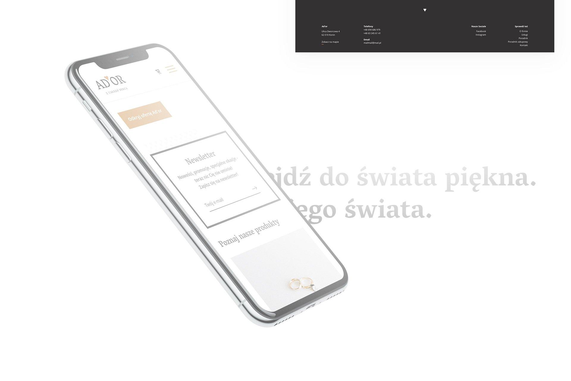 sklepy internetowe projektowanie