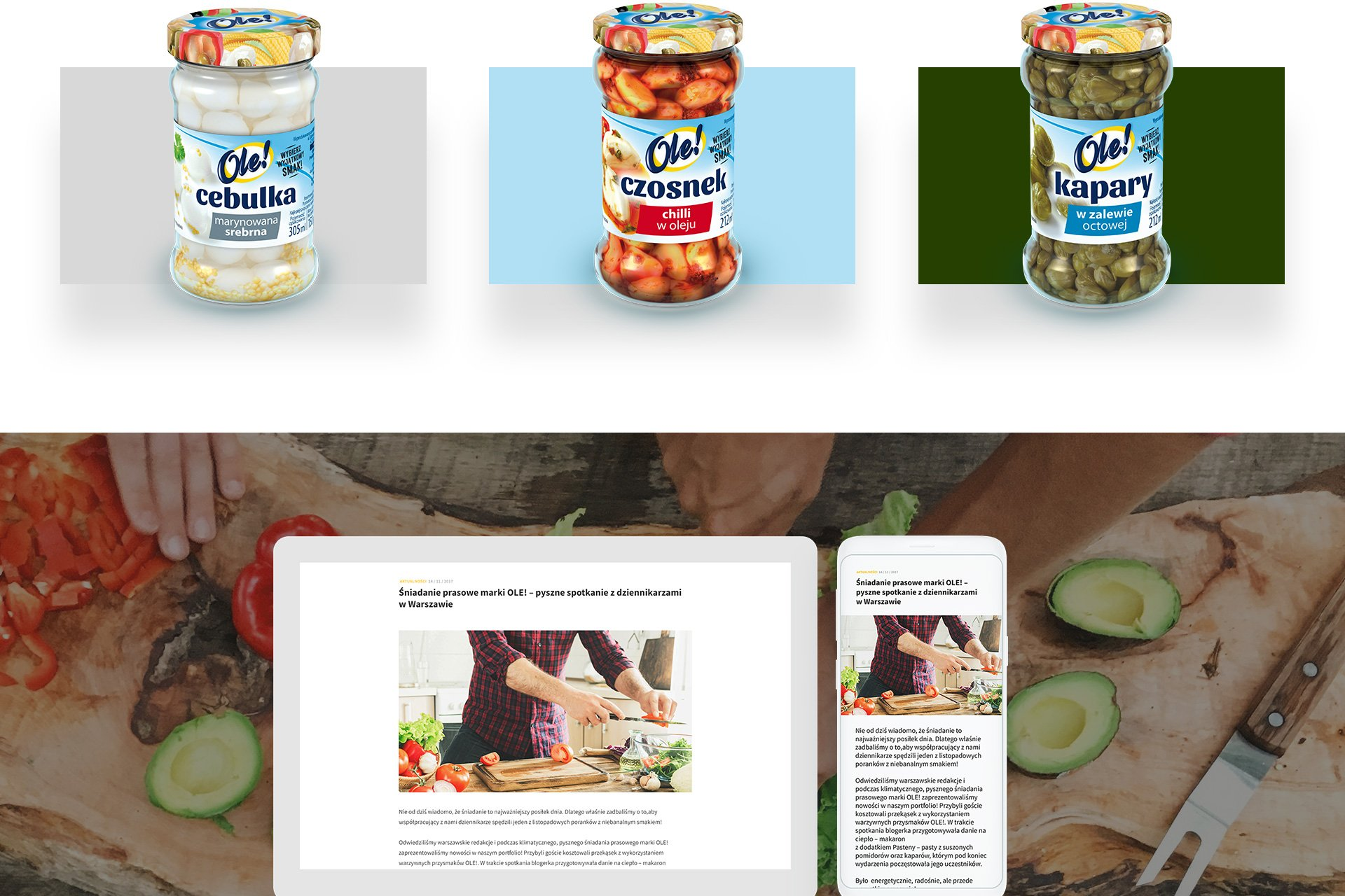 strony www dla marki ole