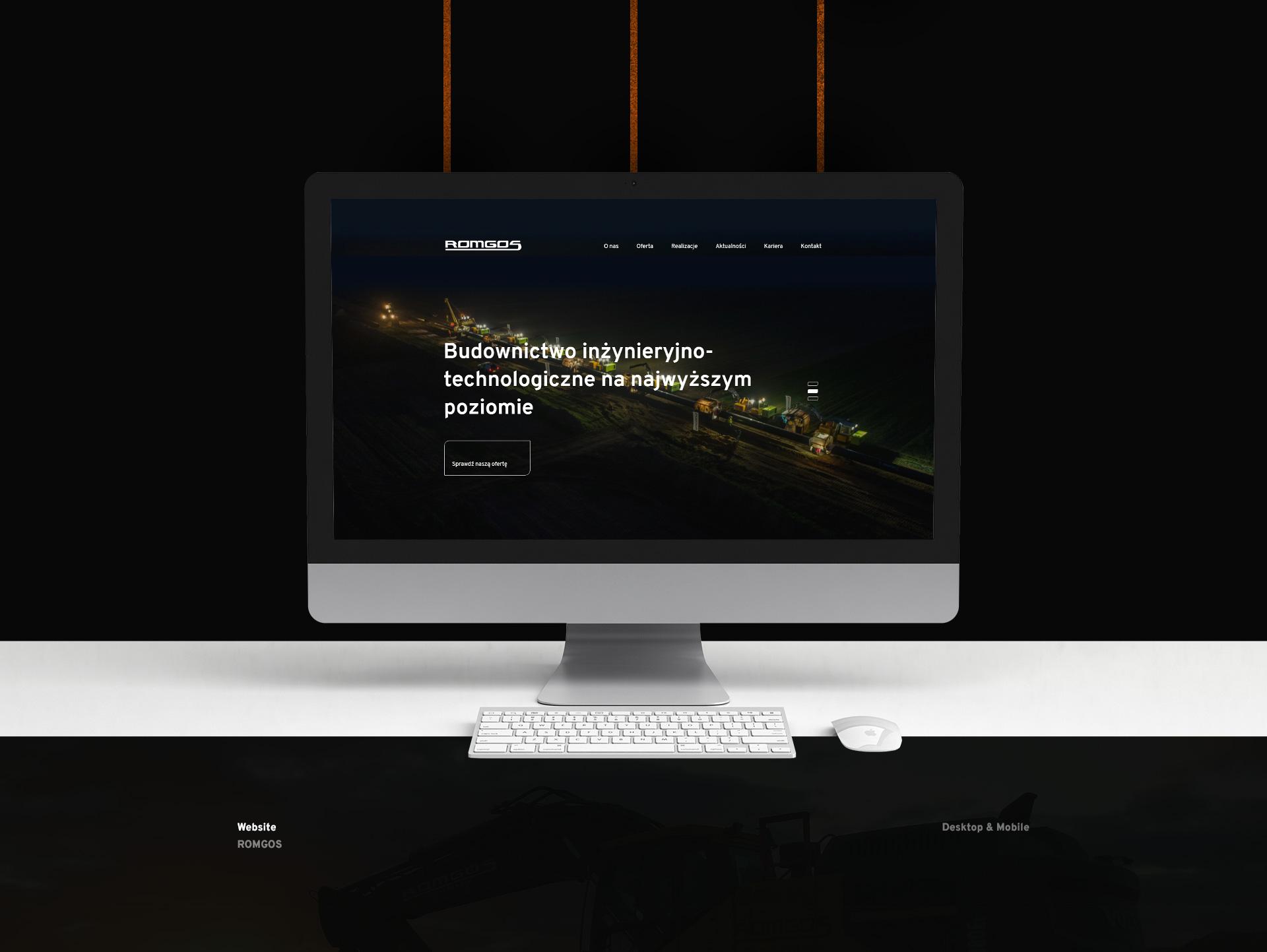 strony www jarocin przykład strony dla ROMGOS z Jarocina