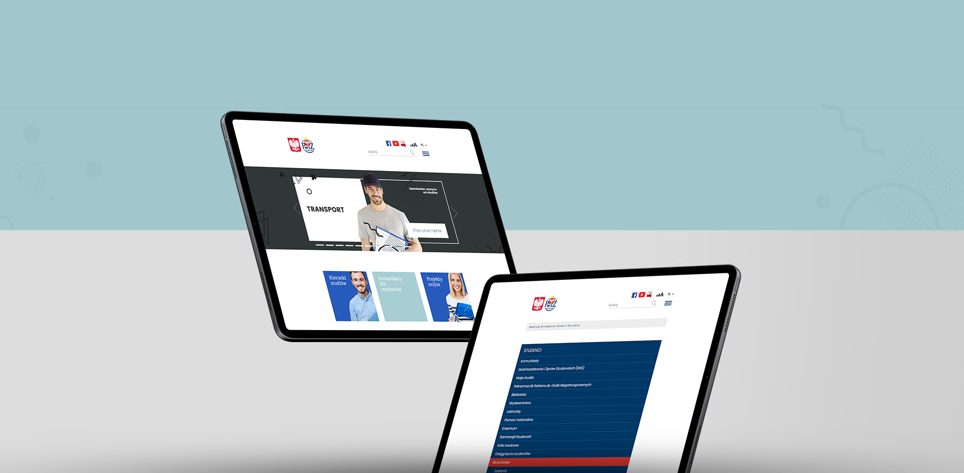 serwis internetowy portal uczelni www
