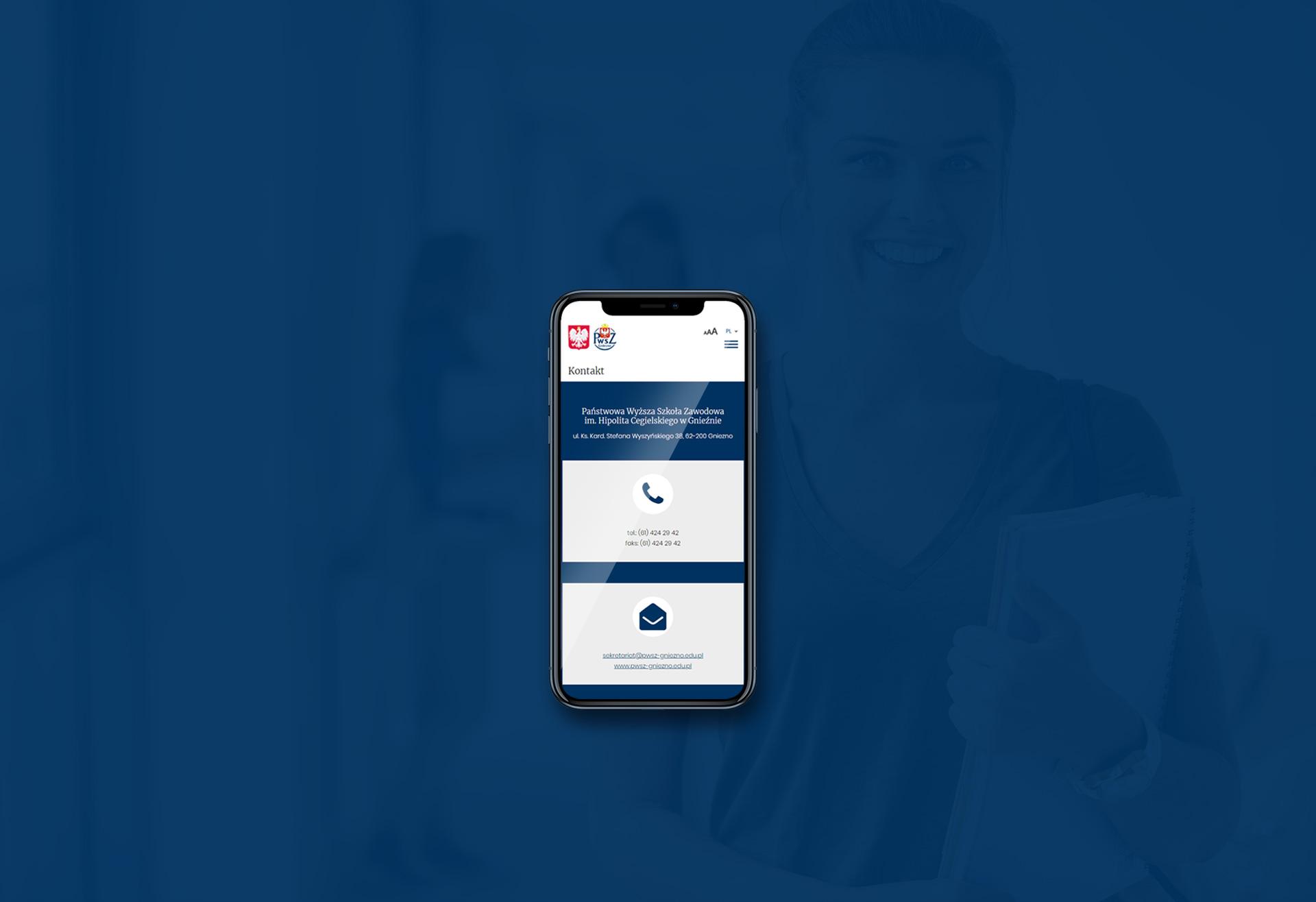 responsywny serwis internetowy uczelni wyższej