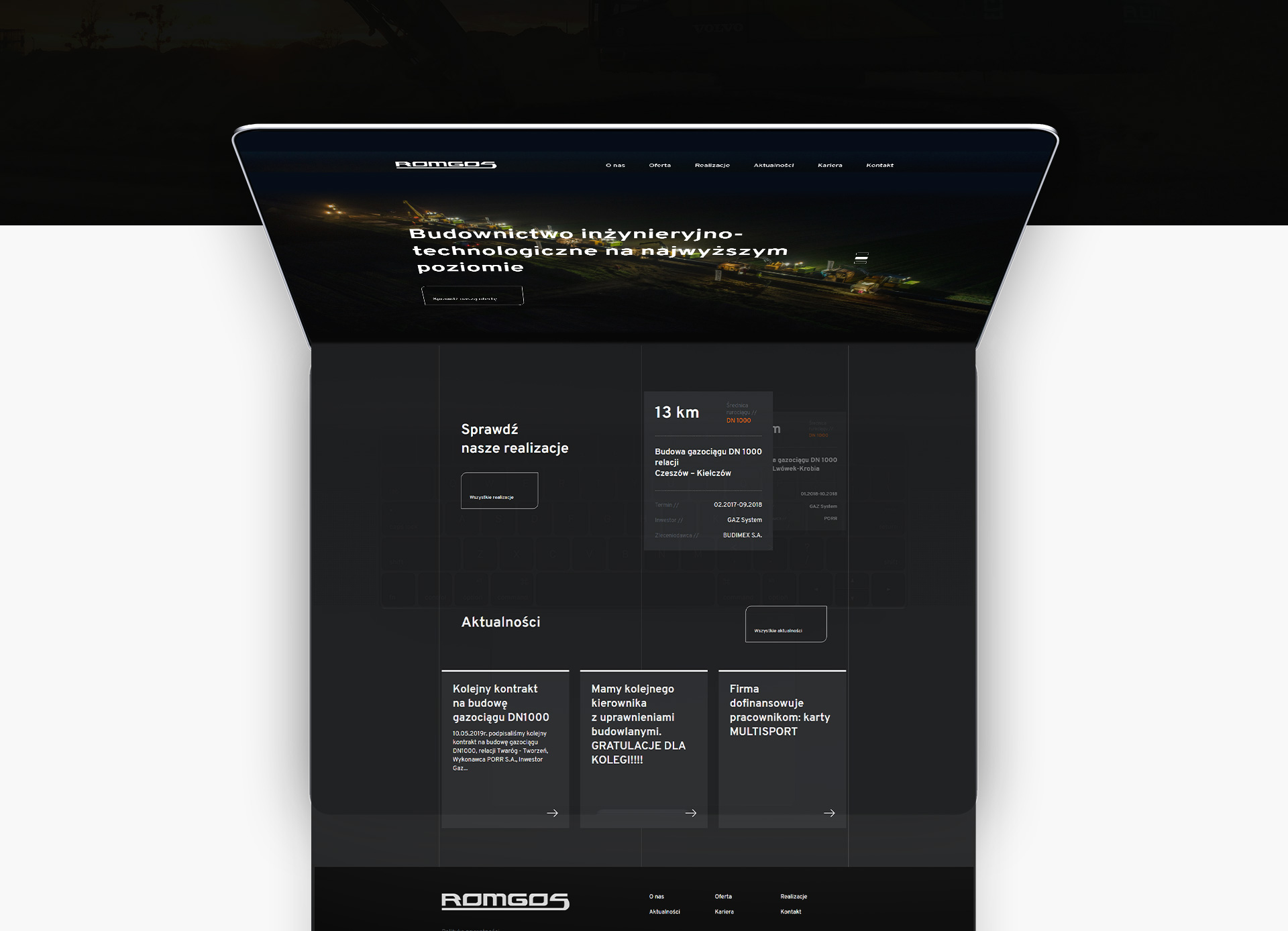 projektowanie stron www romgos