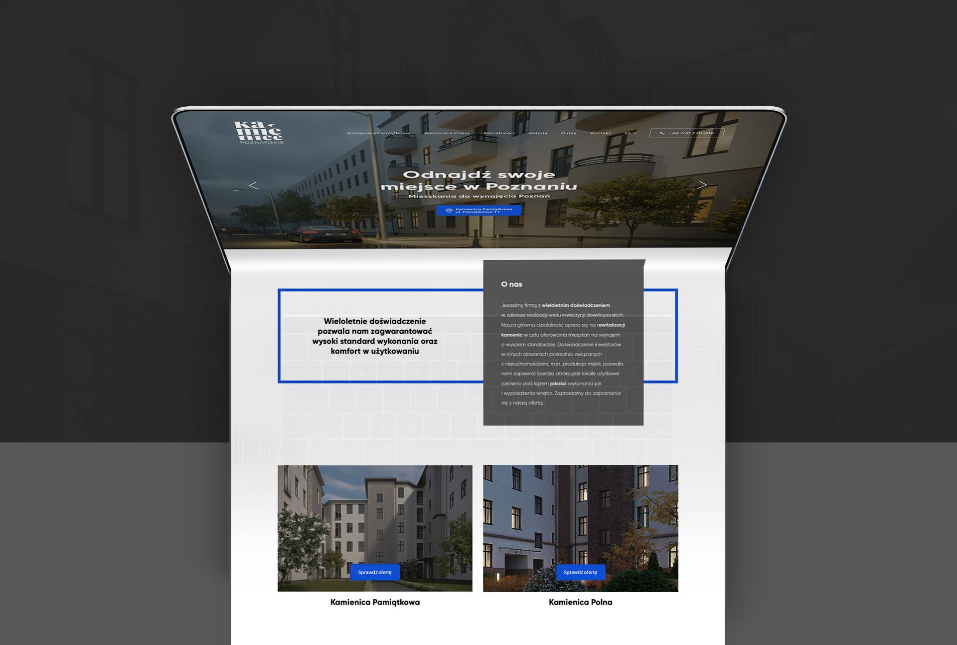 strona internetowa poznań kamienice