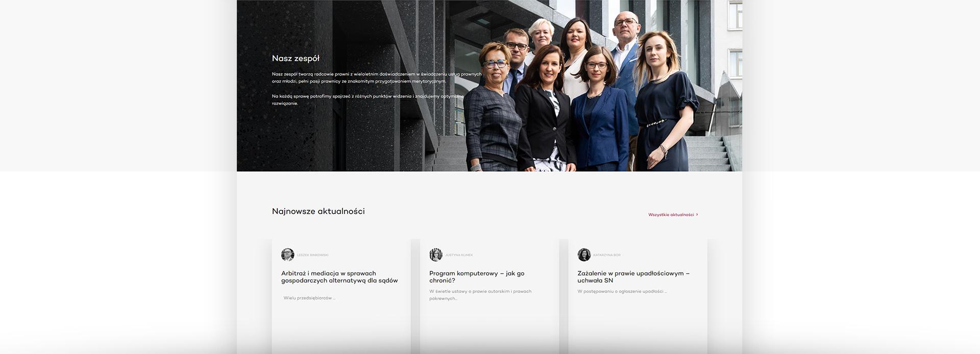 tworzenie stron www poznań kancelarie prawne
