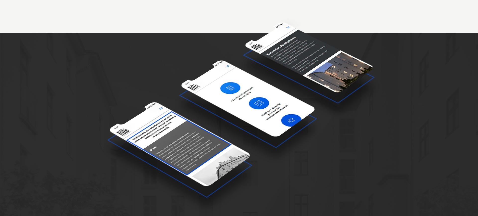 strony www mobilne dla kamienice poznańskie
