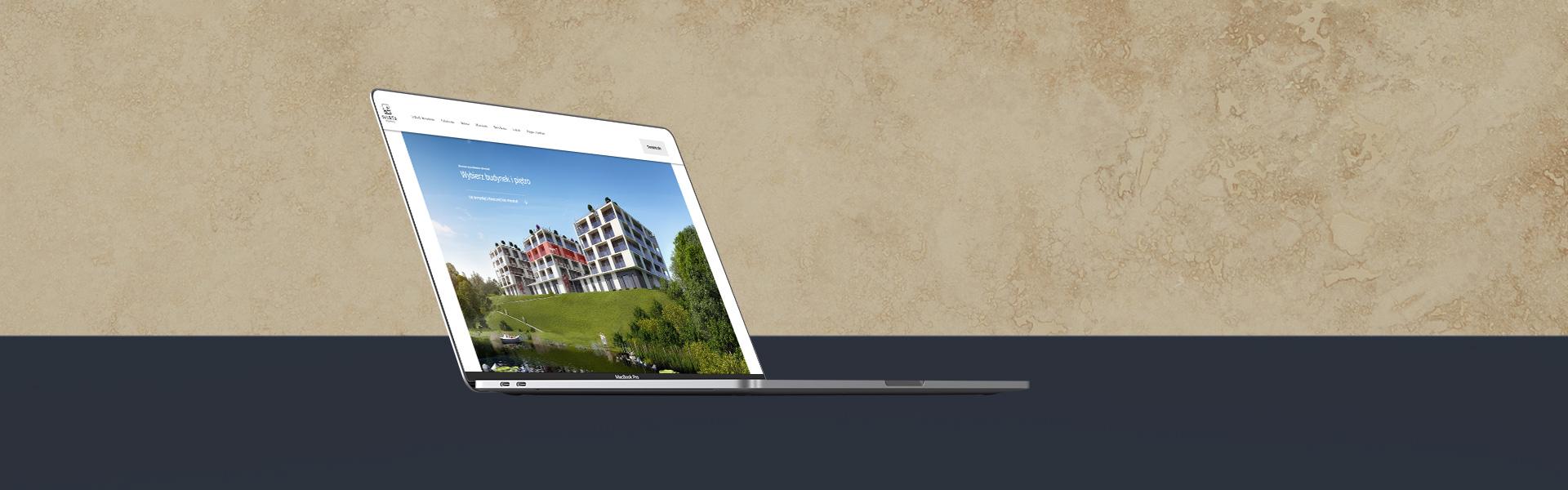 strony internetowe z modułem mieszkań poznań