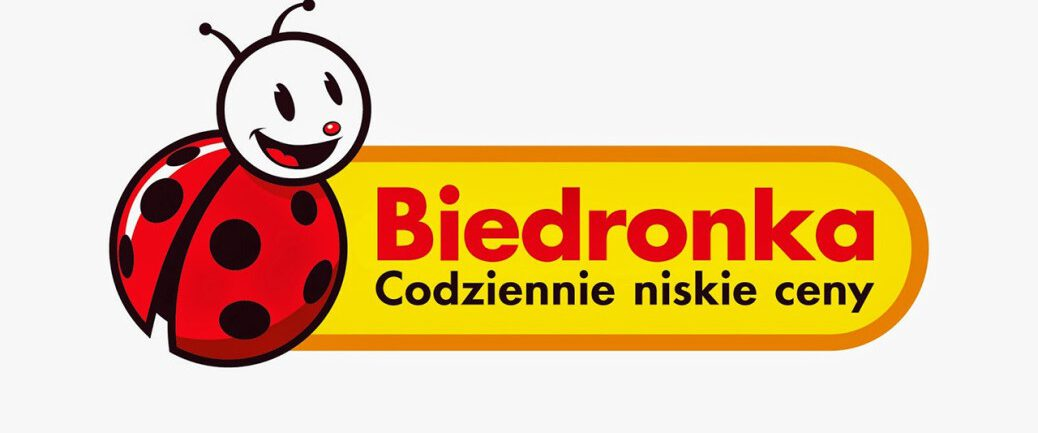 logo alogotyp biedronka